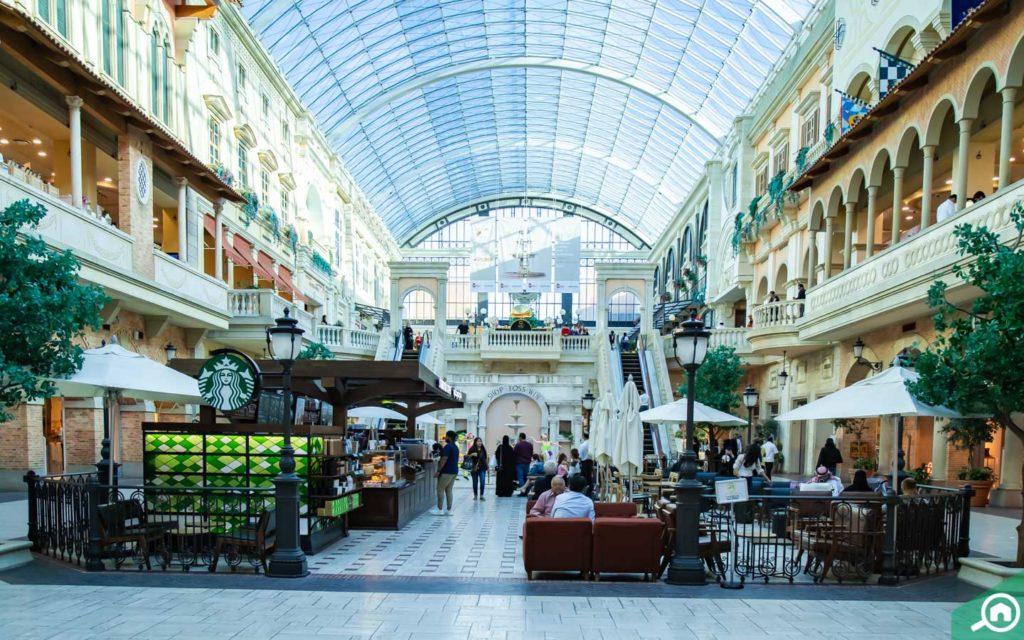 Mercato mall in Dubai
