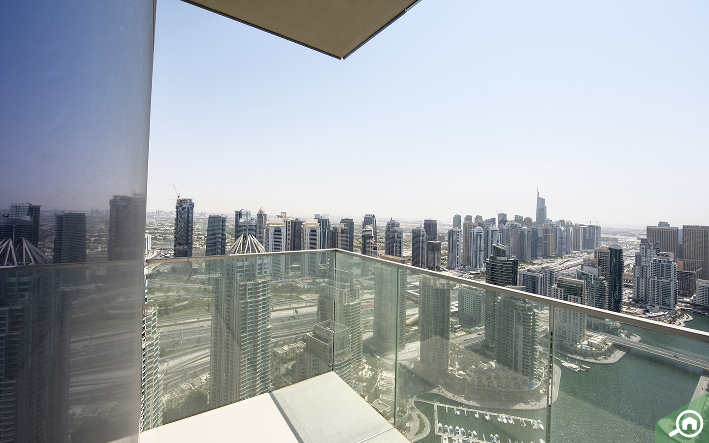 duplex penthouse views from Marina Gate