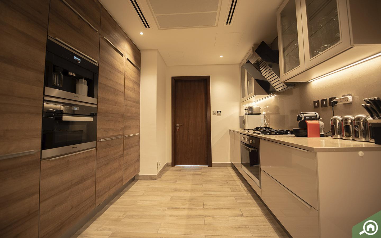 kitchen in Marina Gate penthouse