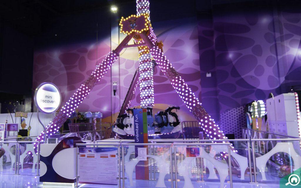 Mini Discovery ride in Fabyland Dubai