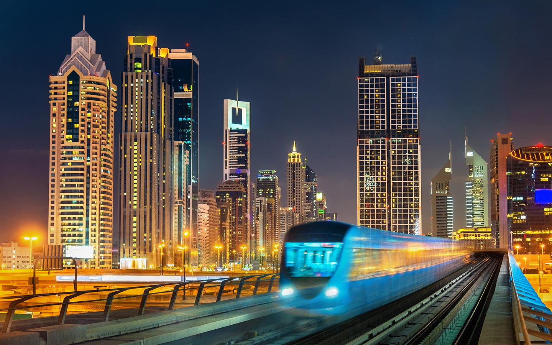 Dubai metro is preferred by British expats