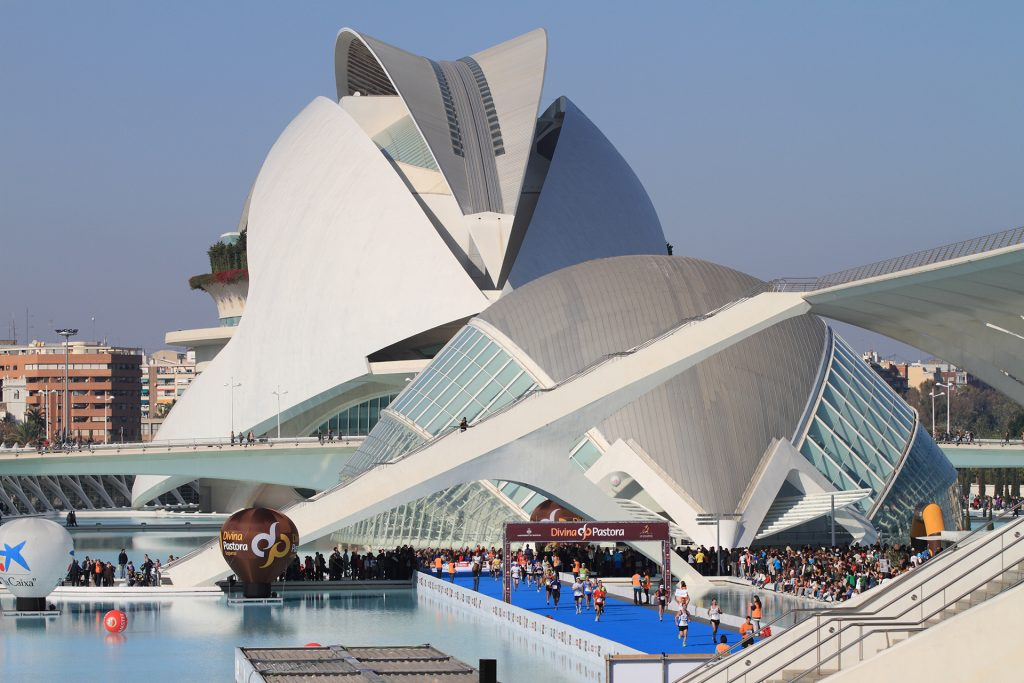 The architect of The Tower Santiago Calatrava designed City of Arts and Sciences and Opera House in Valencia as well