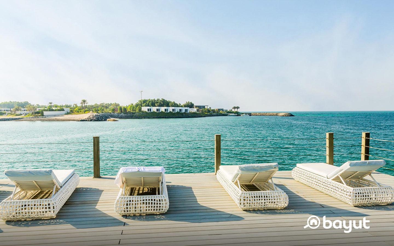 beachfront properties in Abu Dhabi: Nurai island