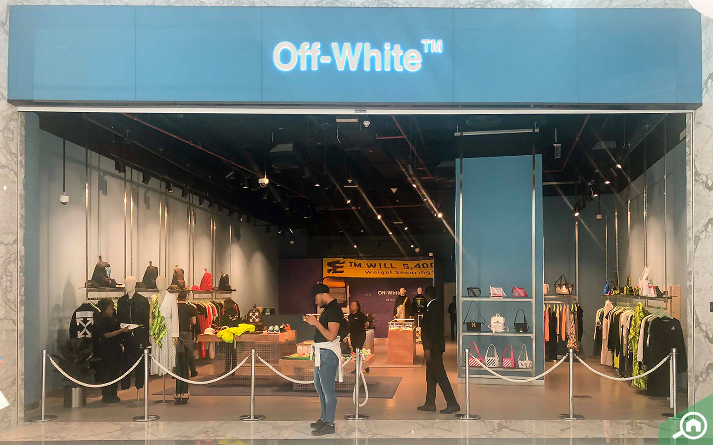 Off-White outlet in Dubai Mall