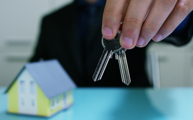 handing over home key