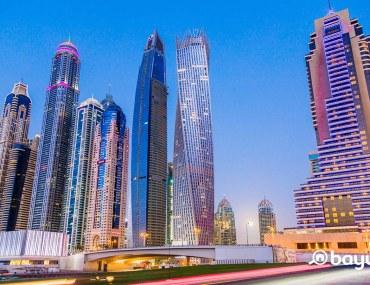 Outdoor activities in Dubai Marina