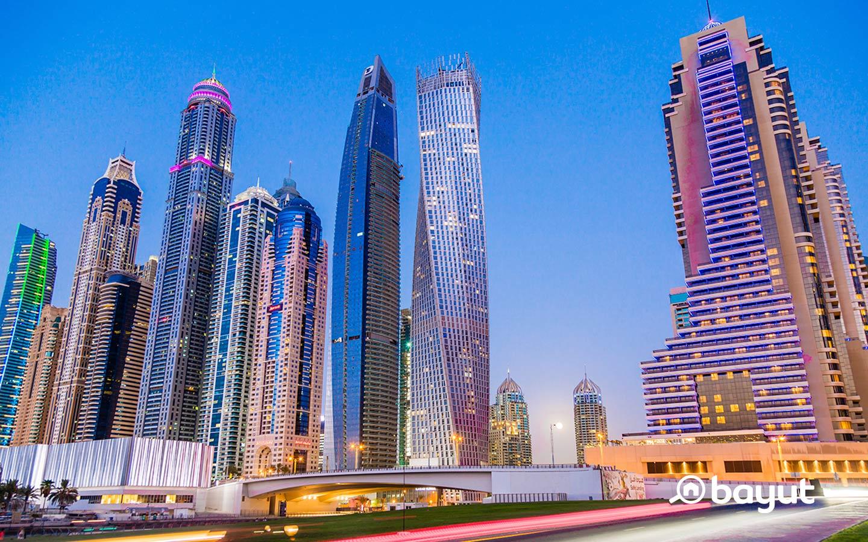 انشطة خارجية في دبي مارينا
