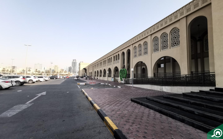 Parking area in Souq Al Jubail
