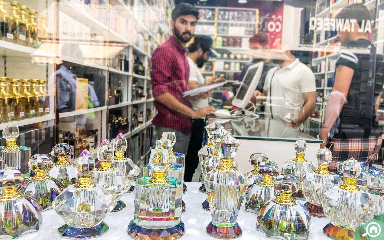 perfume store in perfume souk in dubai