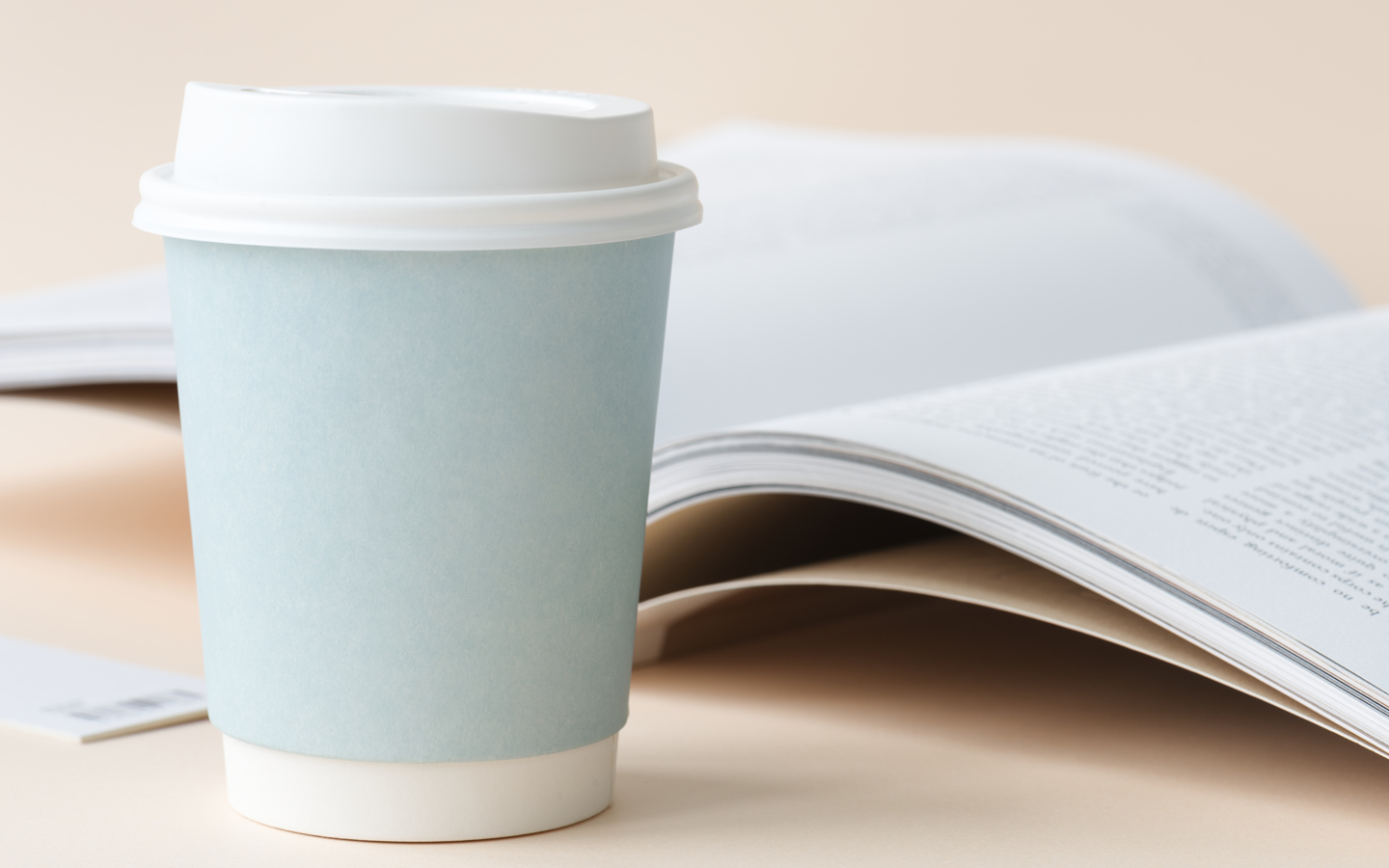 A paper coffee up