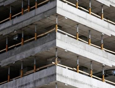 بناء لا يزال قيد الإنشاء