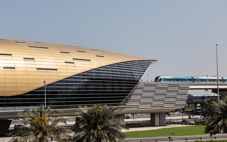 Metro Station for Downtown Dubai: Dubai Mall