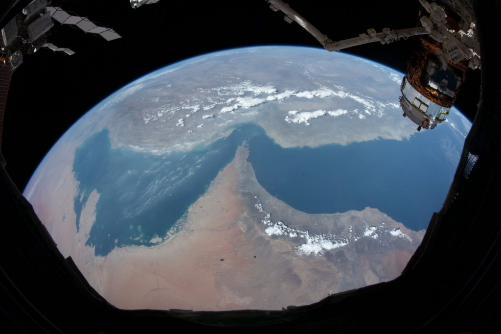 Picture of UAE from space