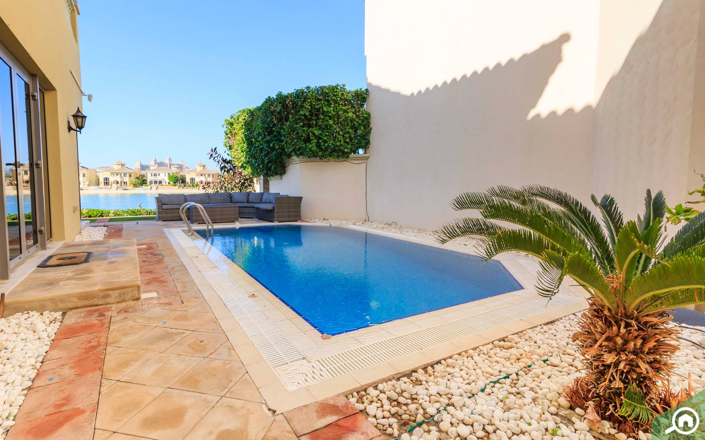 swimming pool - palm Jumeirah