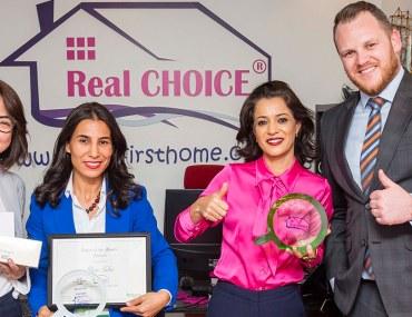 دبي: تفوز وكالة الاختيار الحقيقي للوساطة العقارية بجائزة الوكالة المثالية لشهر يناير 2019