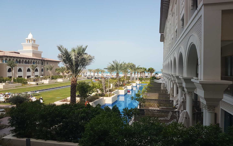 Exterior view of Rixos resort Abu Dhabi