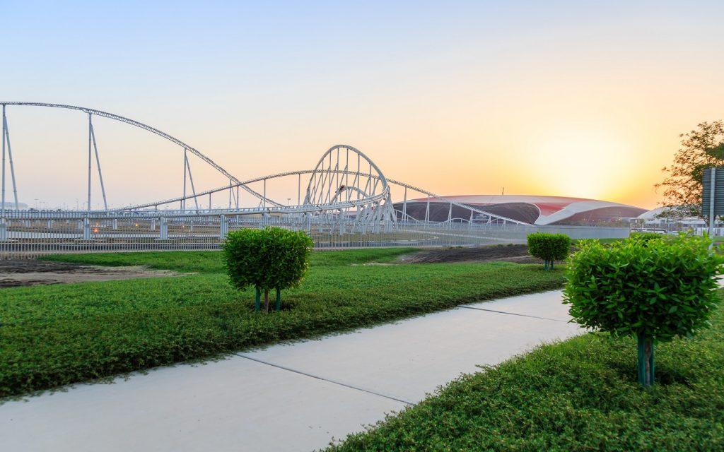 roller coasters at Ferrari World