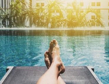 أحواض السبحة في فنادق دبي