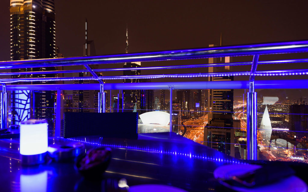rooftop shisha lounge
