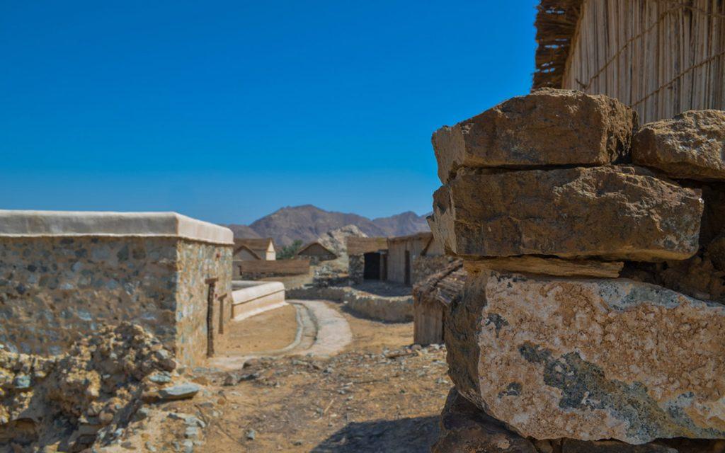ruins at Hatta Village