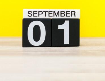 أجندة فعاليات شهر سبتمبر 2018