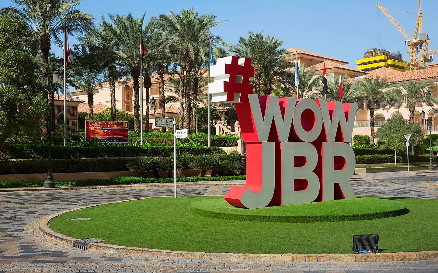 JBR is one of the best places in the UAE for art lovers to live
