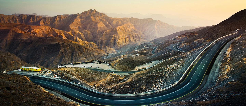 View of Jebel Jais Ras Al Khaimah