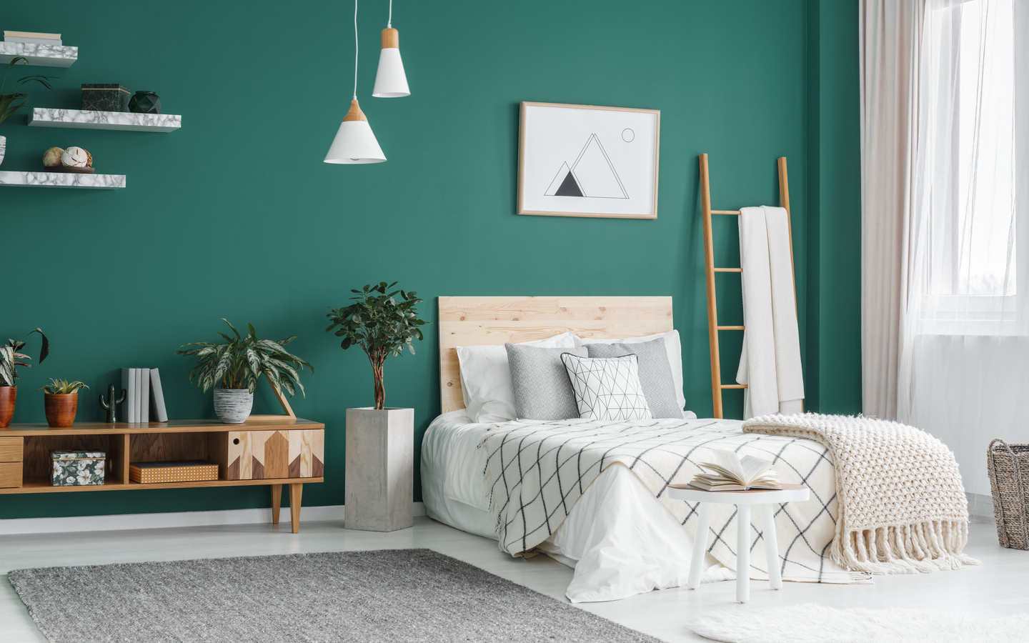 Renovate your bedroom to enhance the look of your house.