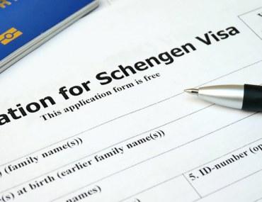Application form for Schengen visa from Dubai