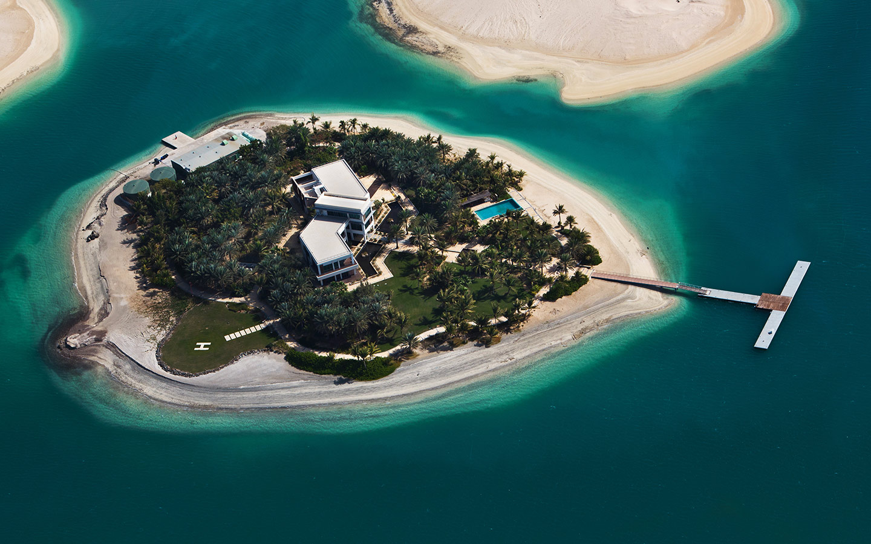 مجموعة من الجزر الاصطناعية يصل عددها إلى 300 جزيرة صغيرة