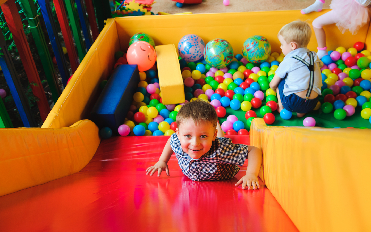 Letting your kids engage into soft-play is one of the premier things to do at Dubai Marina Mall.