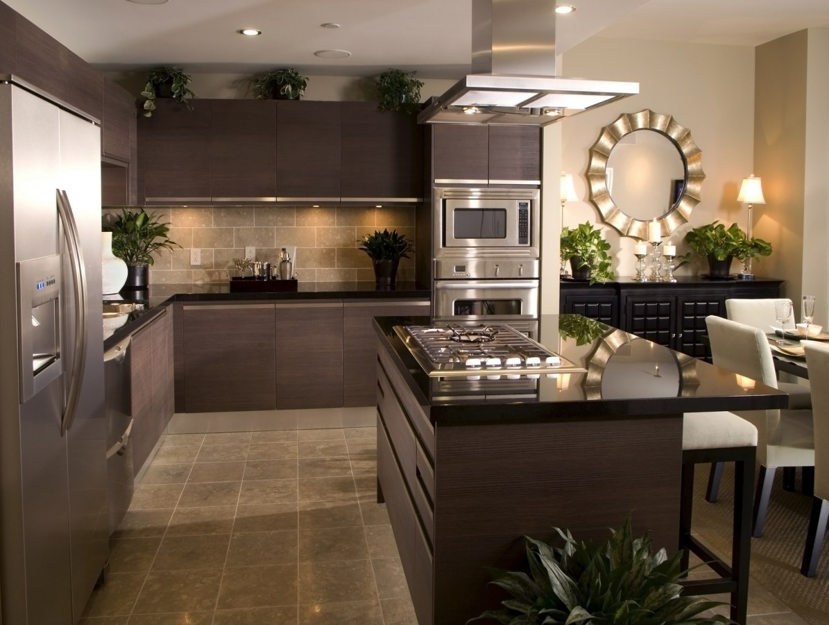 Modern kitchen appliances is the key to kitchen redecorating