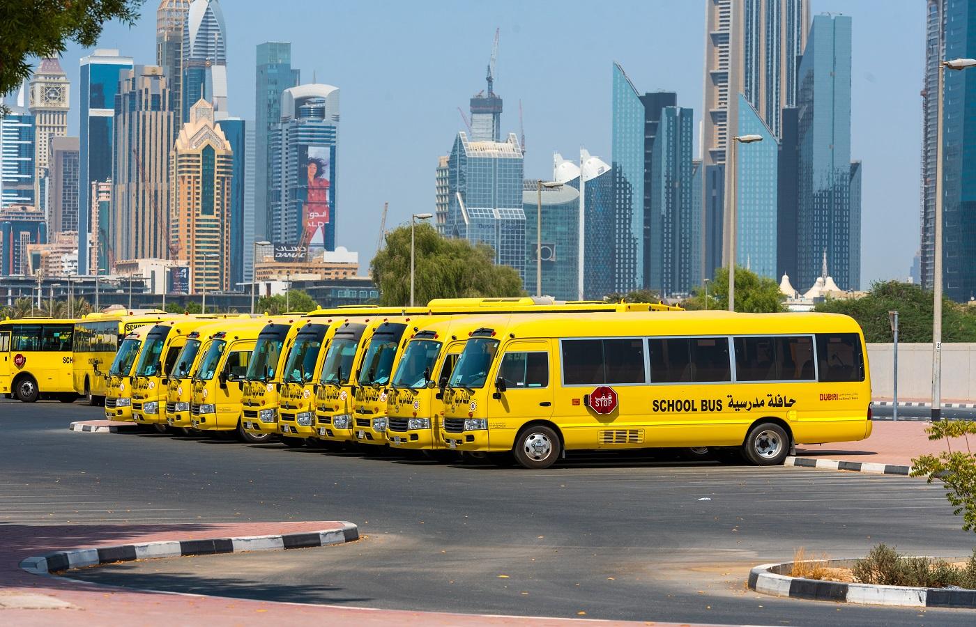 Dubai School buses