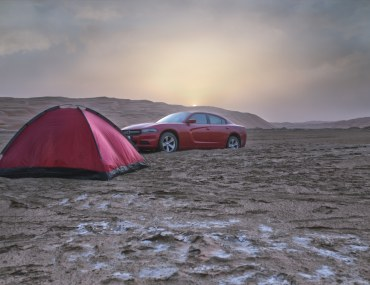 best places to camp in uae