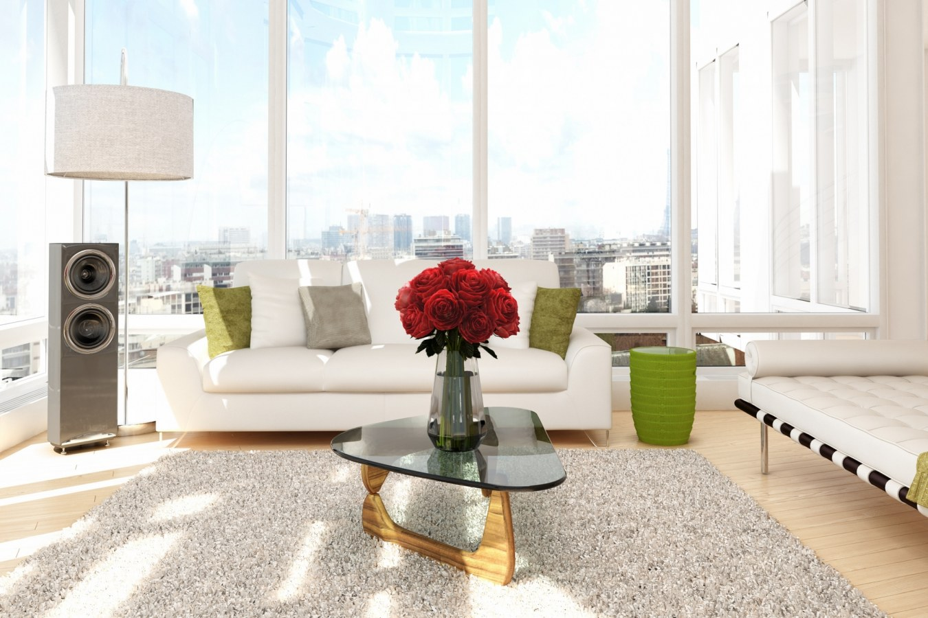 Buy a furnished apartment through Bayut.com and place it on short term rent