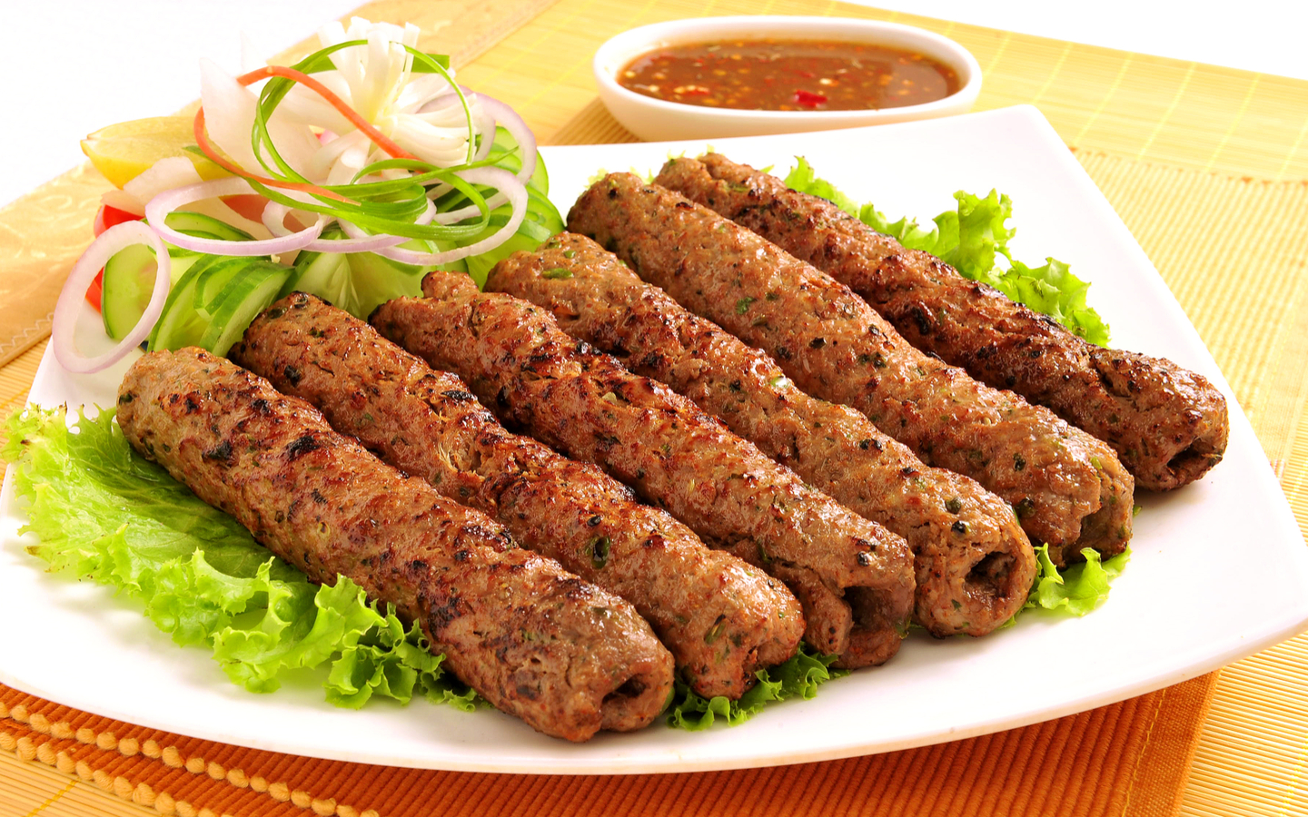 You can relish Seekh Kebab at the culinary powerhouses of Business Bay.