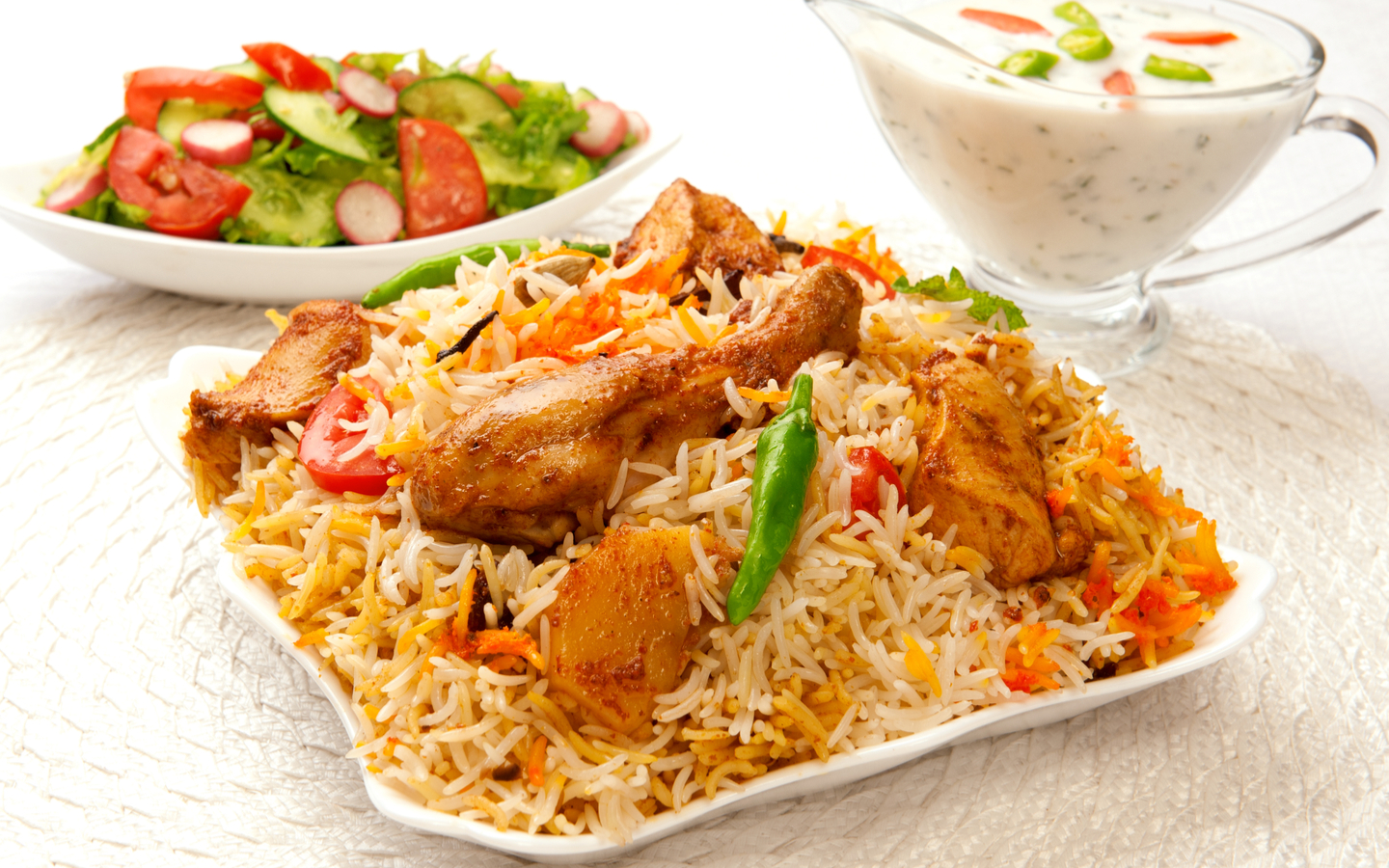 If Biryani is your favourite food, you can enjoy it at various top-notch restaurants in Business Bay.