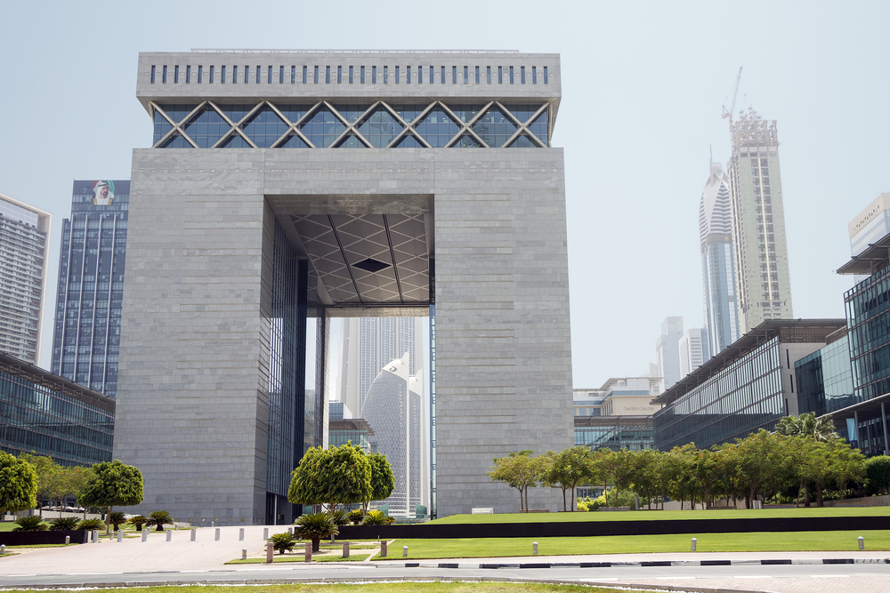 The DIFC Gate - the main building of Dubai International Financial Centre (DIFC)
