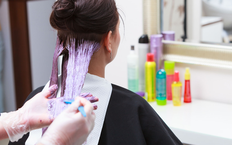hair dye services in Abu Dhabi salons