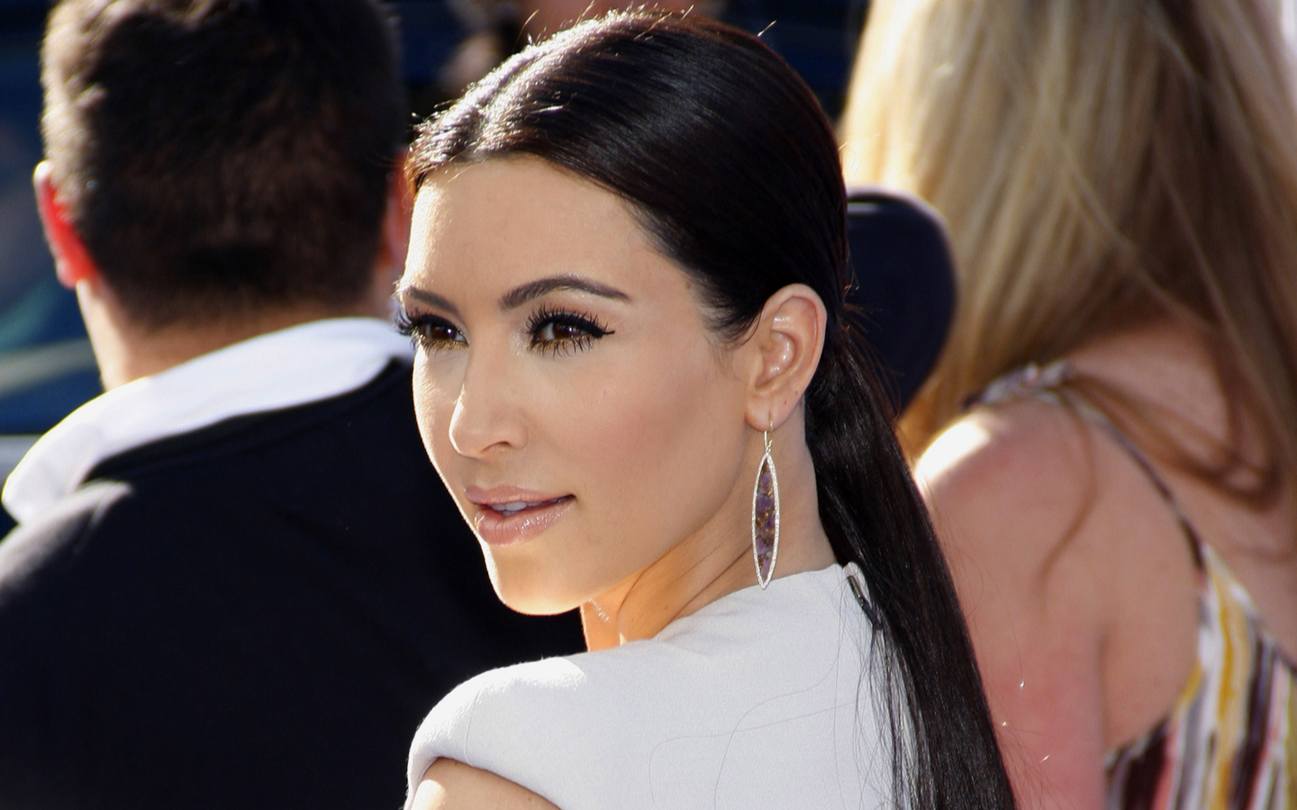kim loves to vist Dubai frequently