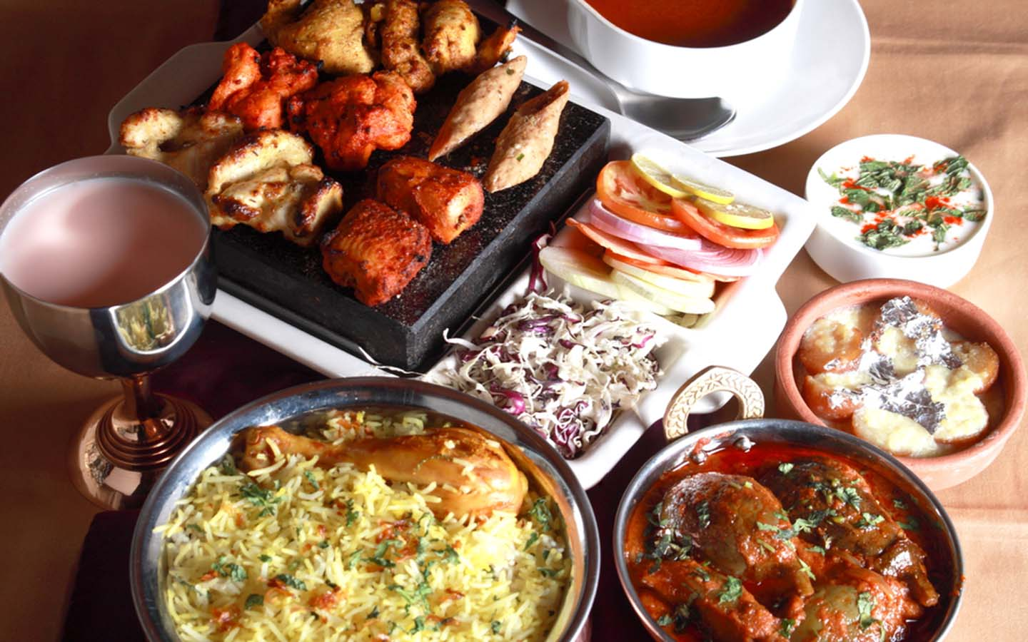 Arabian foods available at different restaurants in Al Qusais