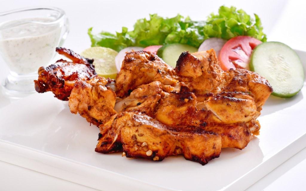 Chicken Tikka at an Indian restaurant in Dubai