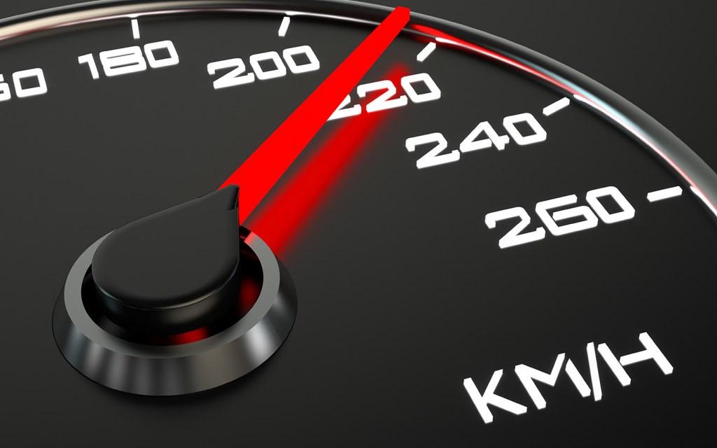 خطر السرعة الزائدة