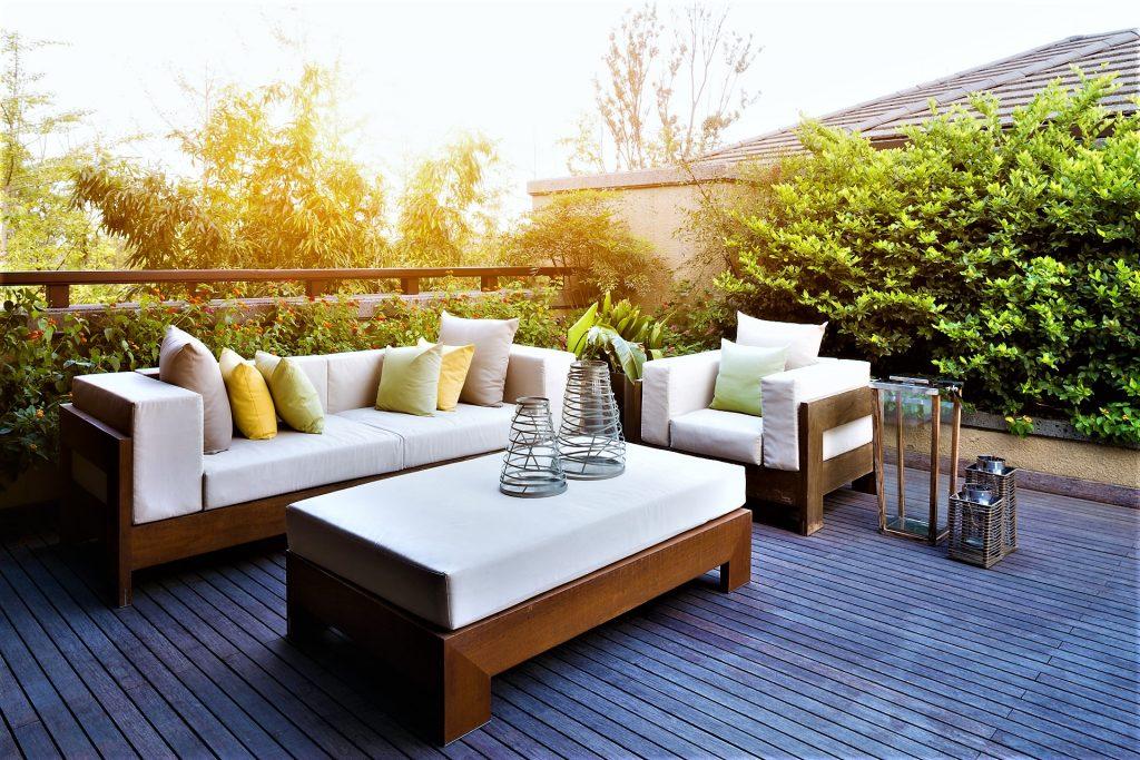 yard furniture ideas on Bayut.com