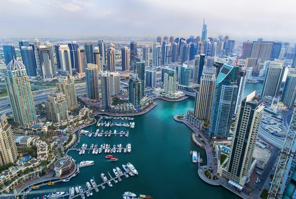 An Areal View of Dubai Marina, Bayut's Area of the Month