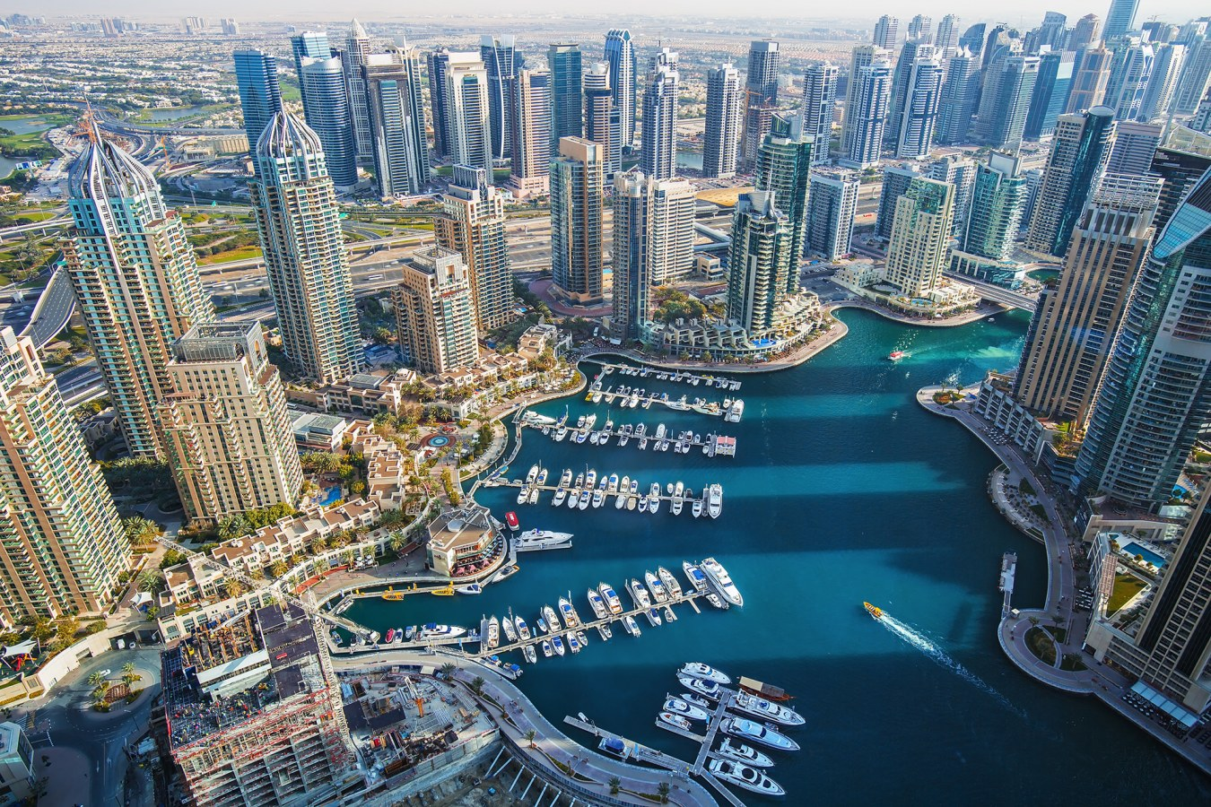 Areal View of Dubai Marina, Bayut's Area of the Month