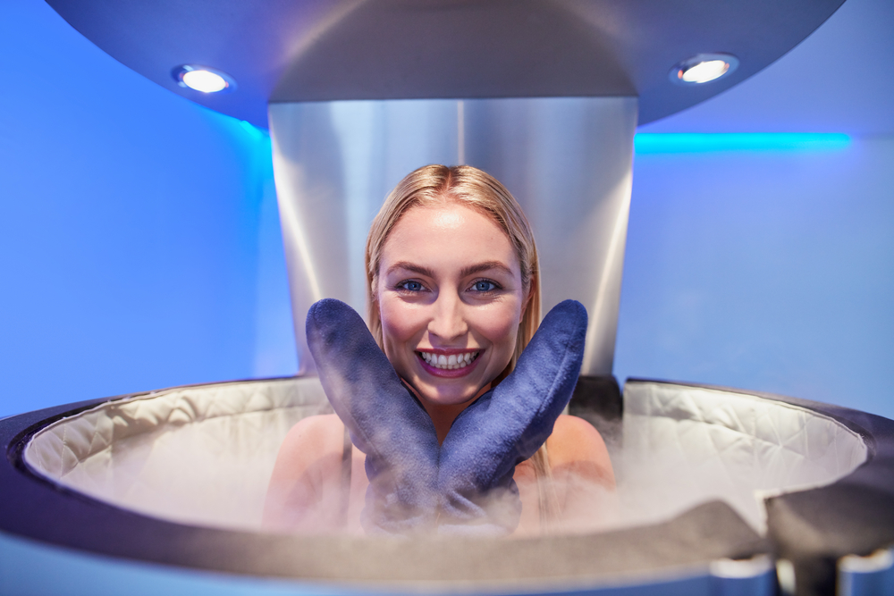 Twelve Epic Ways to Beat the Heat in Dubai this Summer: Cryotherapy at CRYO Health Jumeirah Emirates Towers