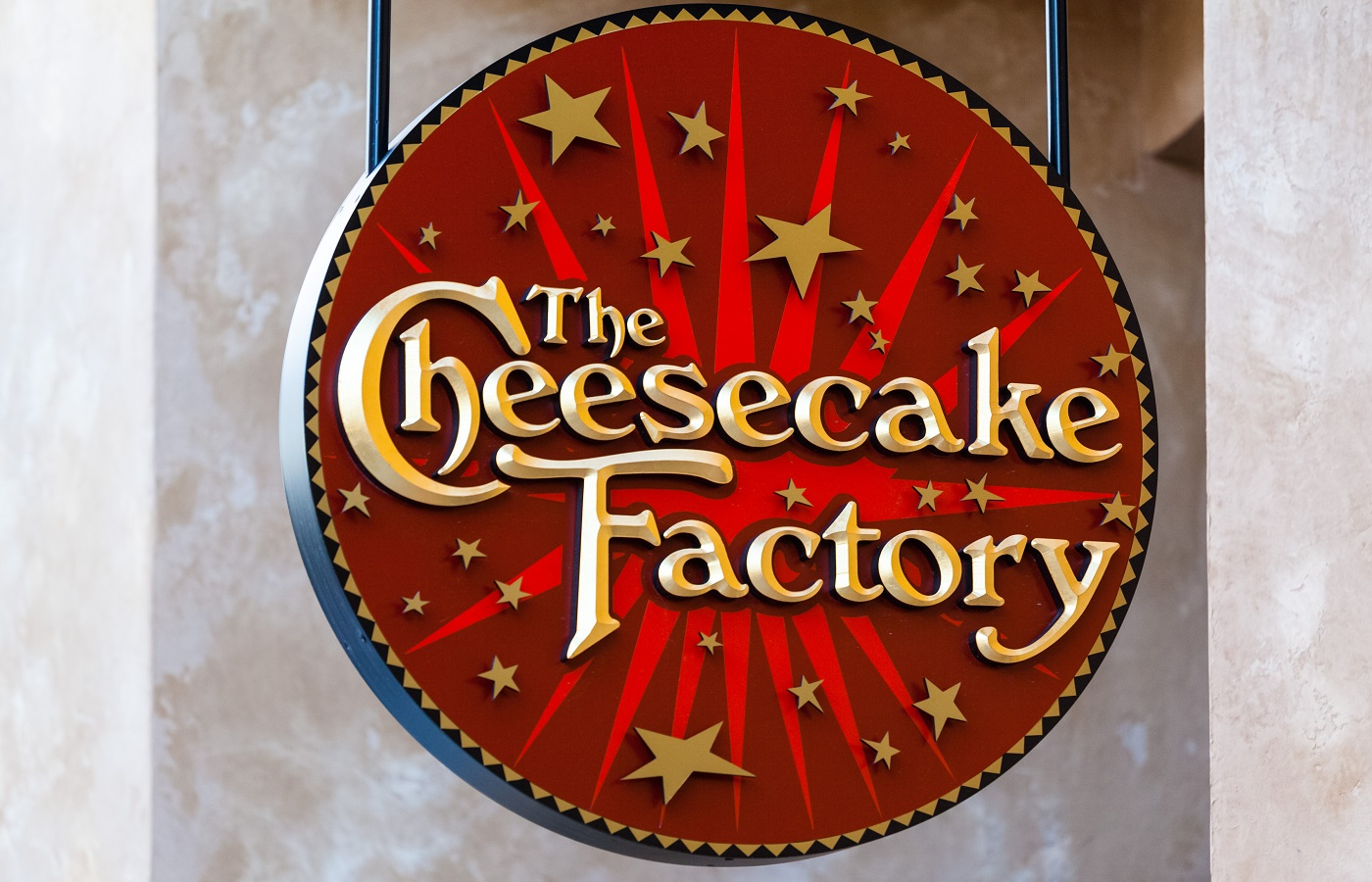 The Cheesecake factory signage