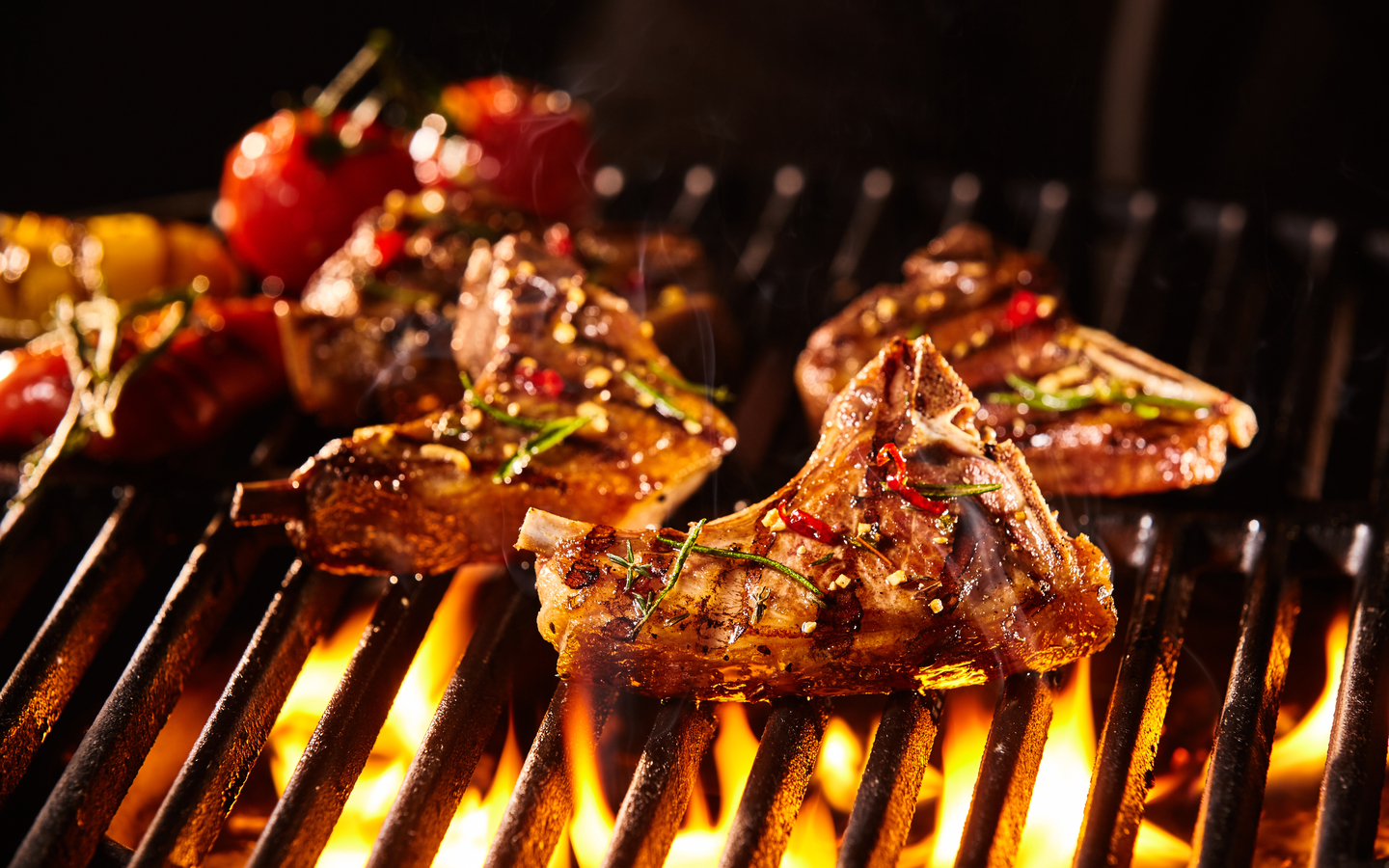 You can't find lamb chops as tasty as it here in Waka restaurant & Bar in Business Bay