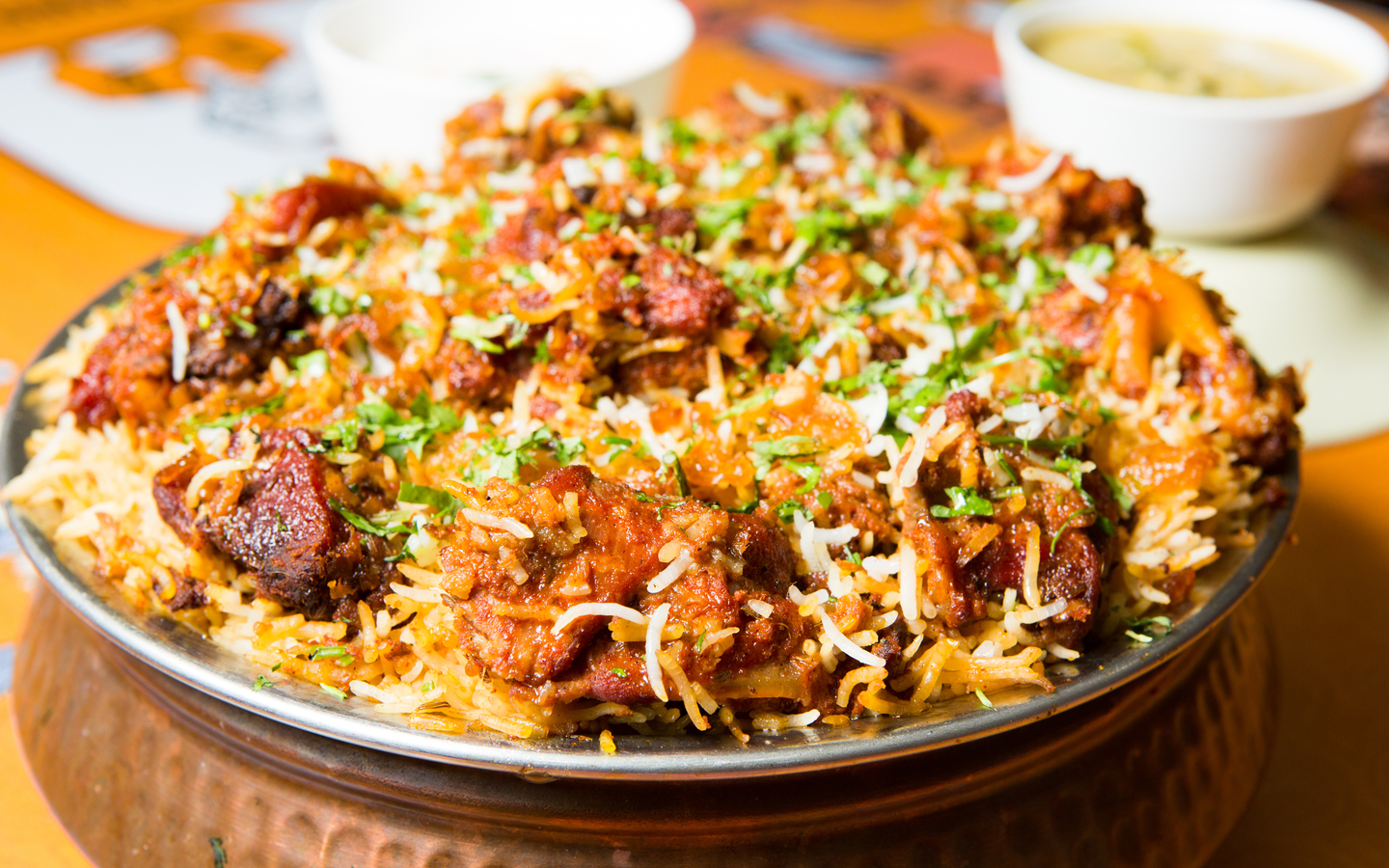 You can try variety of Biryani's at some of the best Pakistani restaurants in Dubai